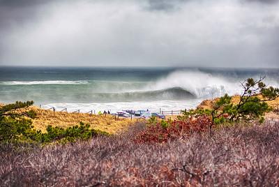Cape Cod Winter Waves
