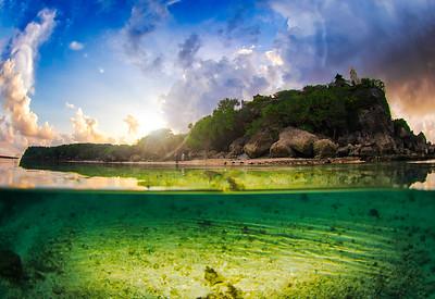 Nusa waterscsapes